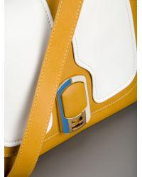Fendi Yellow Anna Bag