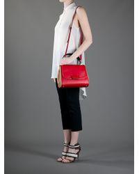 Fendi Red Silvana Bag