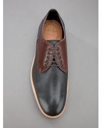 H by Hudson Black Aubin Shoe for men