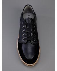 Henrik Vibskov Flat Shoe Black Suede for men
