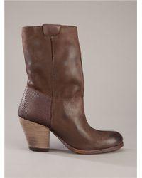 Ksubi Brown Daisy Boot