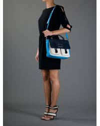 Marc By Marc Jacobs Blue Messenger Bag