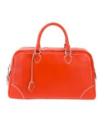 Marc Jacobs Orange The Venetia Shoulder Bag