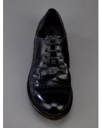 Marsèll Black Derby Shoe for men