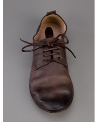 Marsèll Brown Chunky Leather Shoe for men
