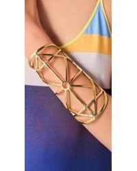Pamela Love Metallic Brass Arch Cuff