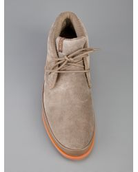 Paul Smith Gray Loomis Shoe for men