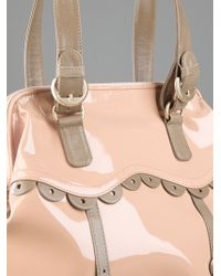 See By Chloé Natural Patent Tote