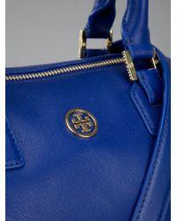 Tory Burch Blue Tote Bag