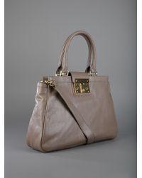 Tory Burch Gray Tote Bag