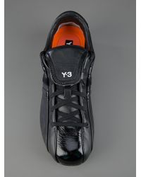 Y-3 Black Classic Field Trainer for men