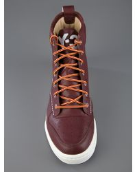 Y-3 Brown Classic Hayworth High Top for men