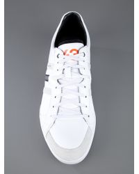 Y-3 White Classic Sala Trainer for men
