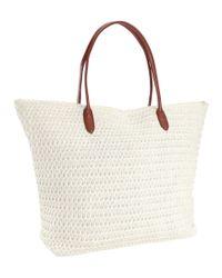 H&M Natural Tote Bag