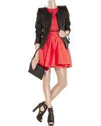 Preen Line Red Prym Dress