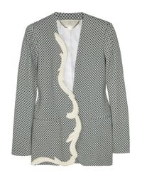 Stella McCartney | Gray Ray Printed Crepe Jacket | Lyst