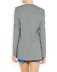Stella McCartney | Gray Ray Printed Crepe Jacket | Lyst