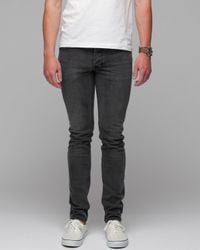 Insight | Gray The City Riot Slim Fit Jeans in Black Acid for Men | Lyst