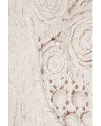 Temperley London Natural Torero Knit Dress