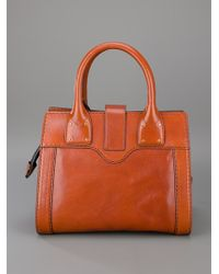 Chloé Brown Cognac Bag