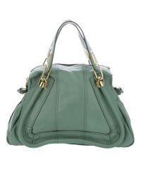 Chloé Green Paraty Bag