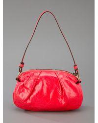 Chloé Red Pouch Bag