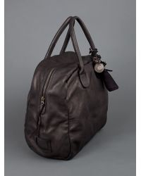 Christian Peau Brown Holdall Bag for men