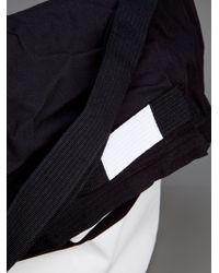 Kris Van Assche Eastpak Black Fold Over Shoulder Bag for men