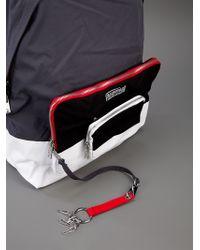 Kris Van Assche Eastpak Gray Backpack for men