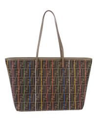 Fendi Brown Roll Bag Shopper