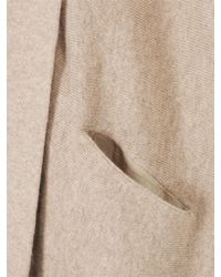 Jigsaw Natural Cocoon Drape Cardigan Sand