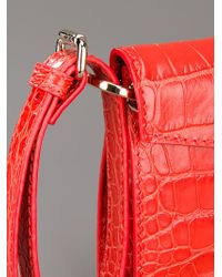 Jimmy Choo Red Rivera Bag
