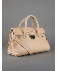 Jimmy Choo Natural Rosalie Bag