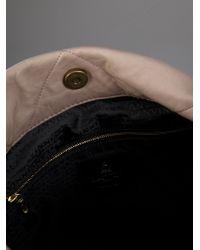 Lanvin Pink Amalia Bucket Bag