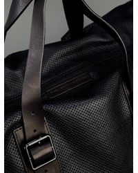 Marc By Marc Jacobs Black Leather Duffle Bag for men