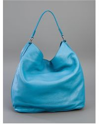 Marc By Marc Jacobs Blue Pocket Hobo Bag