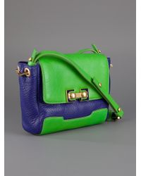 Marc By Marc Jacobs Green Two Tone Bag