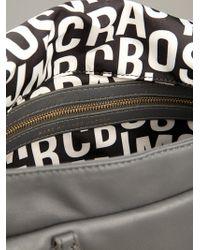 Marc By Marc Jacobs Gray Natasha Petal To The Metal Bag