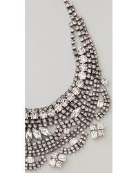 Tom Binns | White Madame Dumont Short Bib Necklace | Lyst