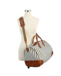 Madewell Natural The Porchstripe Weekender