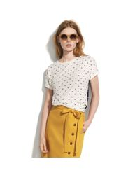 Madewell White Party Favor Tee