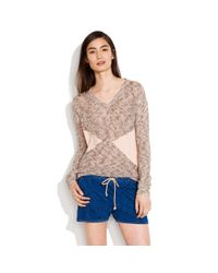 Madewell Natural Arrowshift Sweater