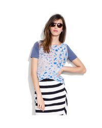 Madewell Blue Shimmerlake Pictureshow Tee