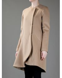Roberta Furlanetto - Natural Structured Coat - Lyst