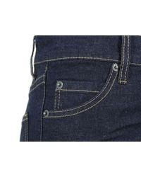 Cheap Monday Blue Tight V Stretch One Wash Super Skinny Jeans