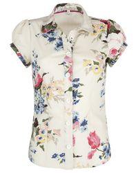 Joules Natural Carlina Shirt Cream
