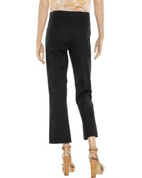 Marni | Blue Flared Trousers | Lyst