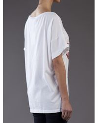 Balmain - White Short Sleeve Shirt - Lyst
