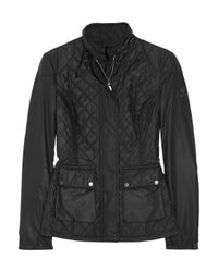 Belstaff Tring Quilted Jacket Black