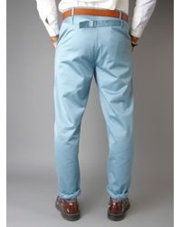 Garbstore Blue Peasant Chino for men